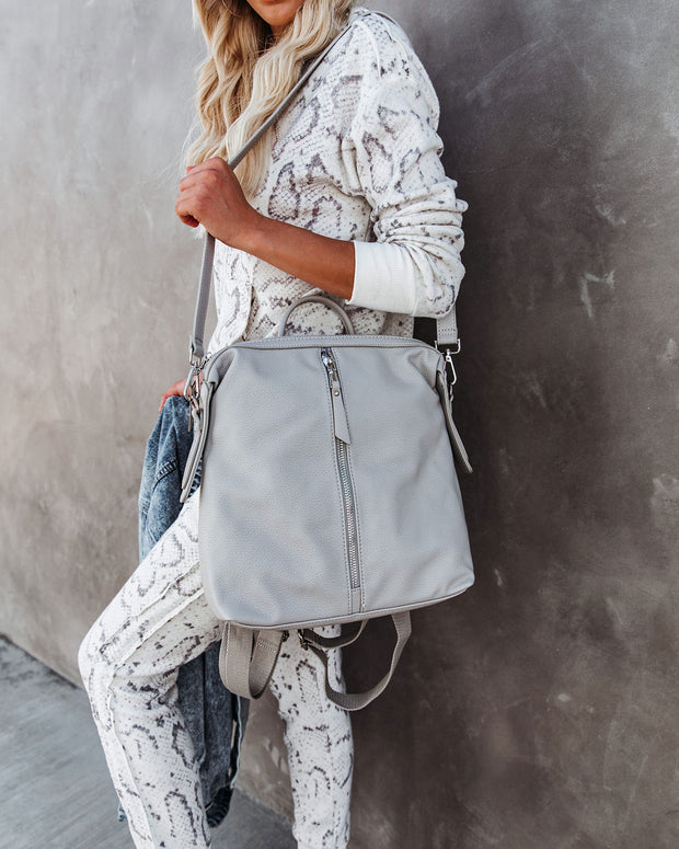 Kenzie Backpack - Grey view 8