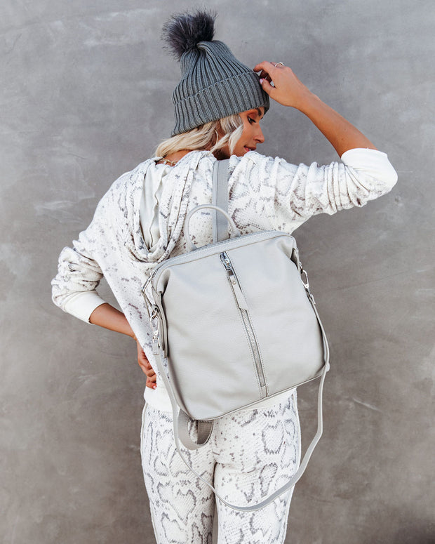 Kenzie Backpack - Grey view 9