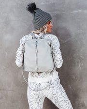 Kenzie Backpack - Grey view 5
