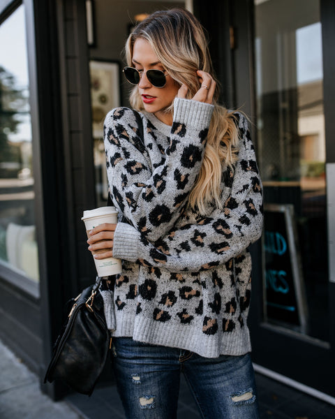 Kittenish Knit Sweater