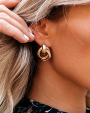 Knot Today Statement Earrings