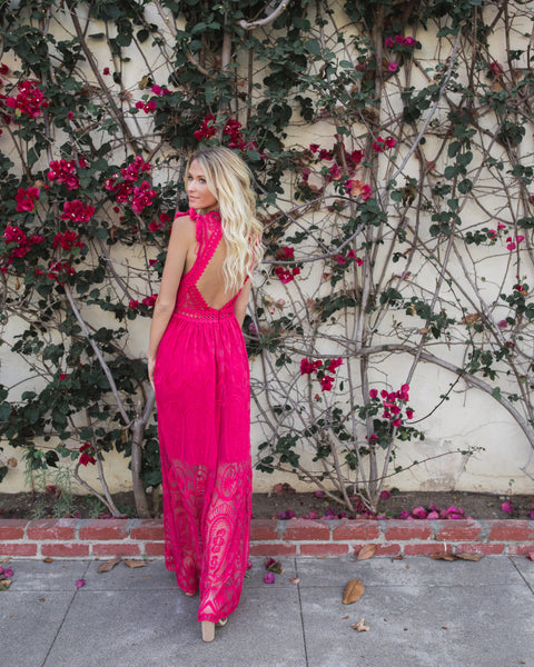 Sweet Secrets Maxi Dress