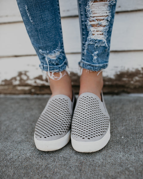 Stand By Me Slip Ons - Grey
