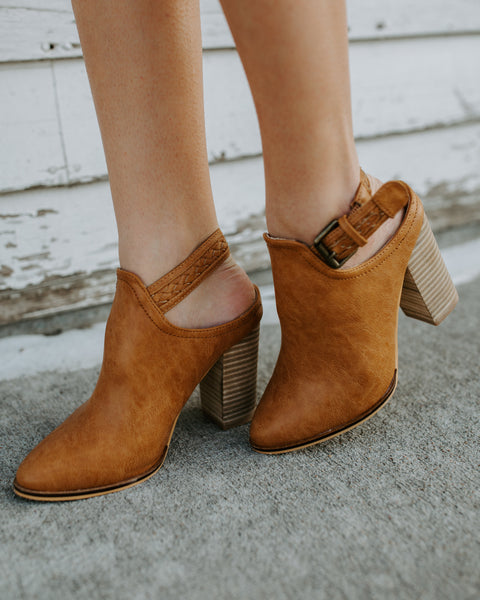 Bella Braided Buckle Bootie