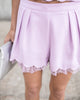 Lovely Lavender Shorts - FINAL SALE