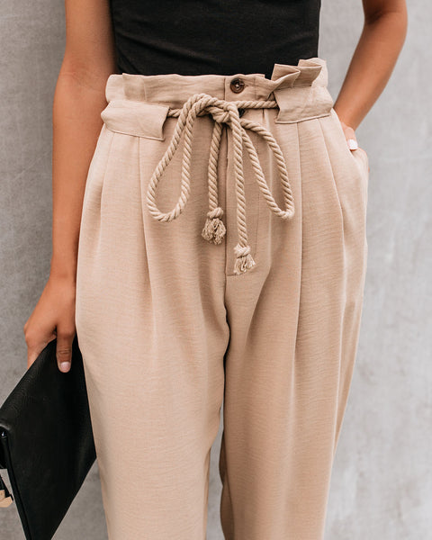 Learn The Ropes Pocketed Trousers