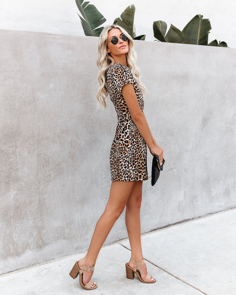 Let's Get Wild Leopard Dress