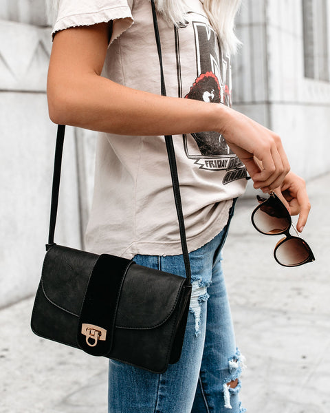 Lexi Crossbody Bag - Black