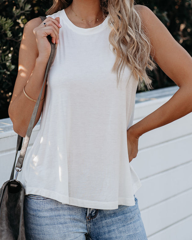 Like It Or Leave It Tank - Off White