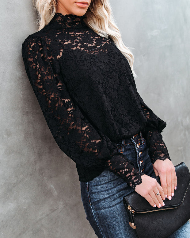 Like No Other Lace Top view 5