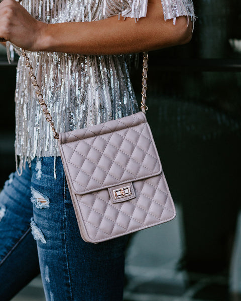 Lillian Quilted Mini Crossbody Bag - FINAL SALE