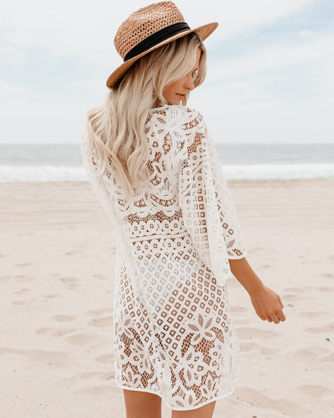 Little Paradise Crochet Dress