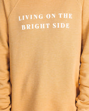 Living On The Bright Side Cotton Blend Pullover