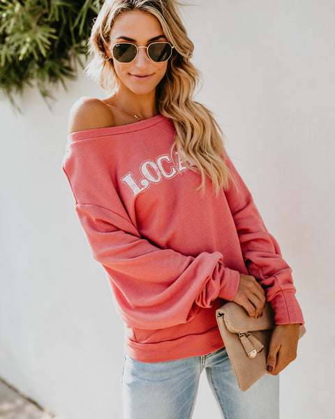 Local Vibes Pullover Sweatshirt