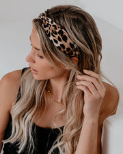 Lose Yourself To Leopard Twist Headband