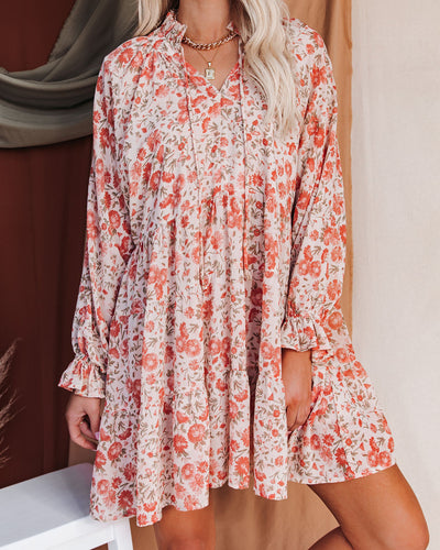 Loving You Floral Tiered Babydoll Dress