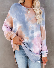 Lupe Tie Dye Relaxed Knit Pullover - FINAL SALE