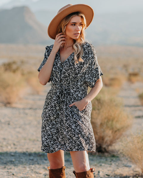 Luxembourg Pocketed Button Down Dress - FINAL SALE