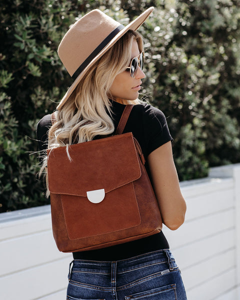 Lynn Backpack - Tan