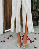 Manhattan Beach Cotton Pocketed Jumpsuit