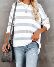 Marilla Striped Knit Top