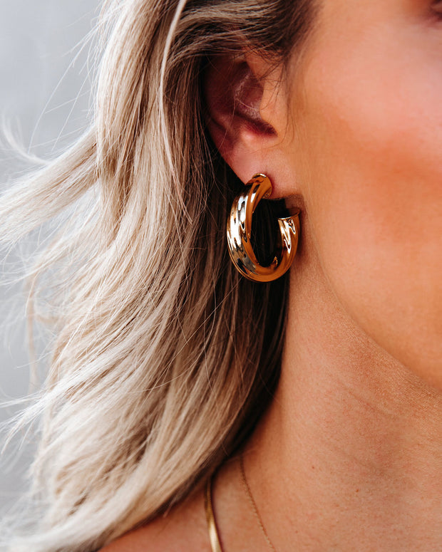 Marrin Costello - Amber Twist Hoops