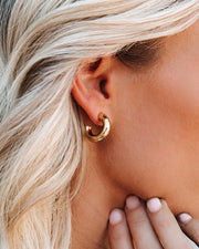 Marrin Costello - Becca Hoops - Gold