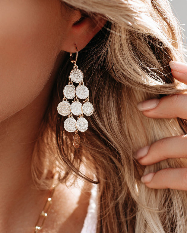 Marrin Costello – Coin Chandelier Earrings