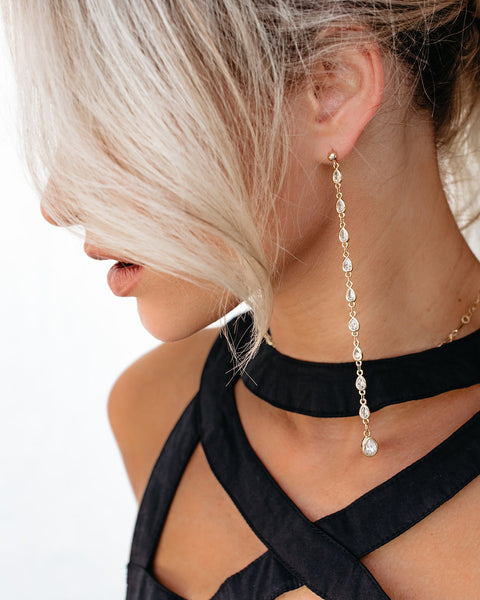 MARRIN COSTELLO - Drip Pavè Drop Earrings