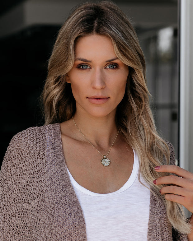 Marrin Costello – Globetrotter Pendant Necklace - FINAL SALE