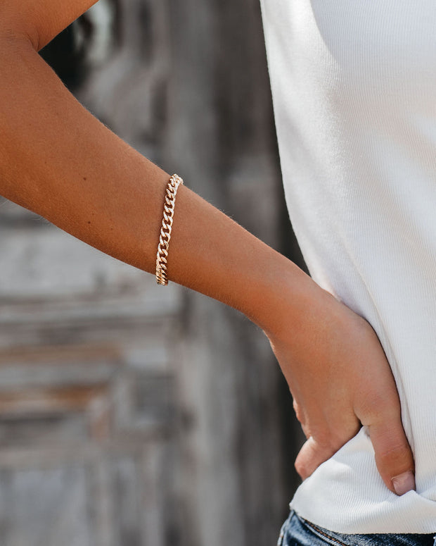 Marrin Costello - Kelsey Chain Bracelet - Gold