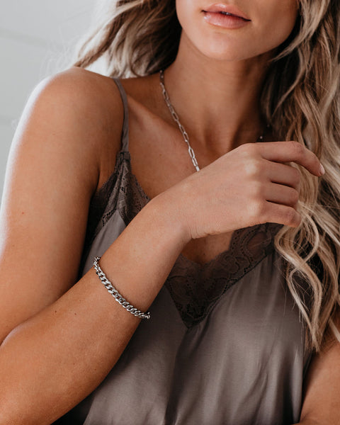 Marrin Costello - Kelsey Chain Bracelet - Silver