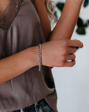 Marrin Costello - Kelsey Chain Bracelet - Silver - FINAL SALE