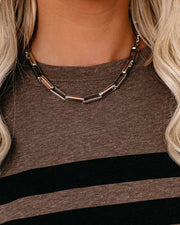 Marrin Costello - Quincy Collar Necklace - Silver