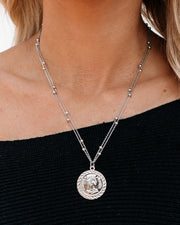 Marrin Costello - Regina Pendant Necklace - Silver
