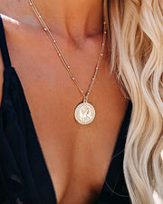 Marrin Costello - Regina Pendant Necklace - Gold