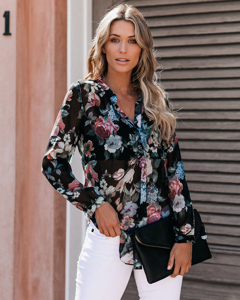 Maxwell Floral Blouse