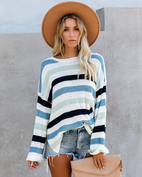 Mckinley Striped Knit Sweater
