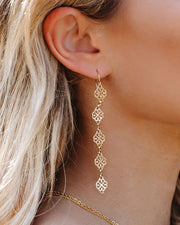 Meghan Bo Designs - Fortune Drop Earrings