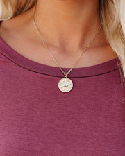 Meghan Bo Designs - Fortune Medallion Necklace