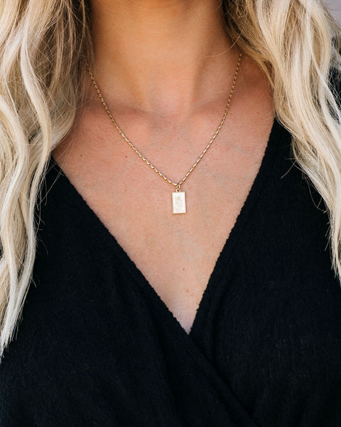 MEGHAN BO DESIGNS - Saint Christopher Necklace