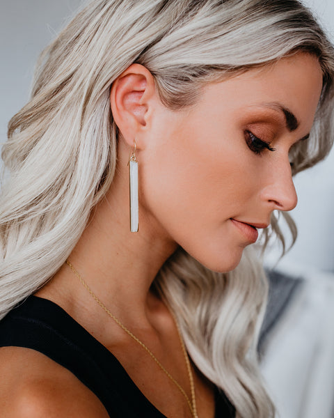MEGHAN BO DESIGNS - Selenite Earrings