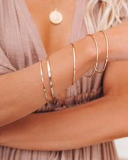 Meghan Bo Designs - Simple Bangle Bracelet view 4