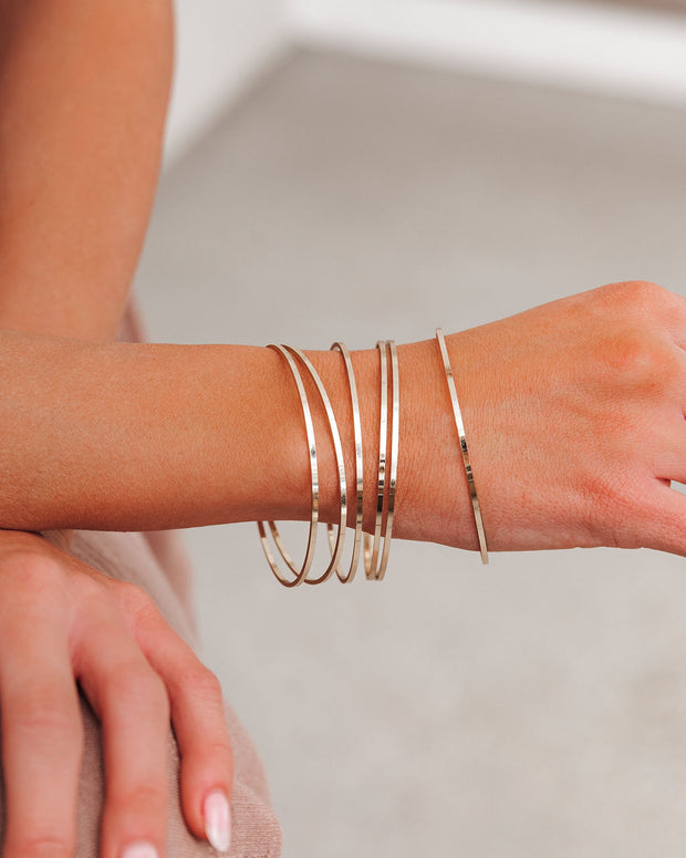 Meghan Bo Designs - Simple Bangle Bracelet view 1
