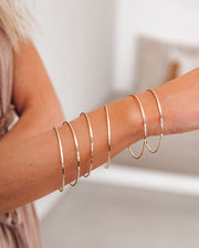 Meghan Bo Designs - Simple Bangle Bracelet view 3