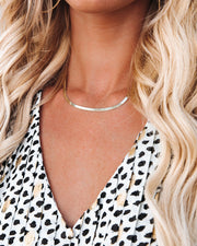 Meghan Bo Designs - Simple Herringbone Necklace