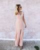 Melinda Maxi Dress - Nude