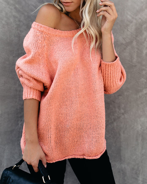 Mellow Vibe Knit Sweater