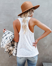Michelle Racerback Tank - White view 2
