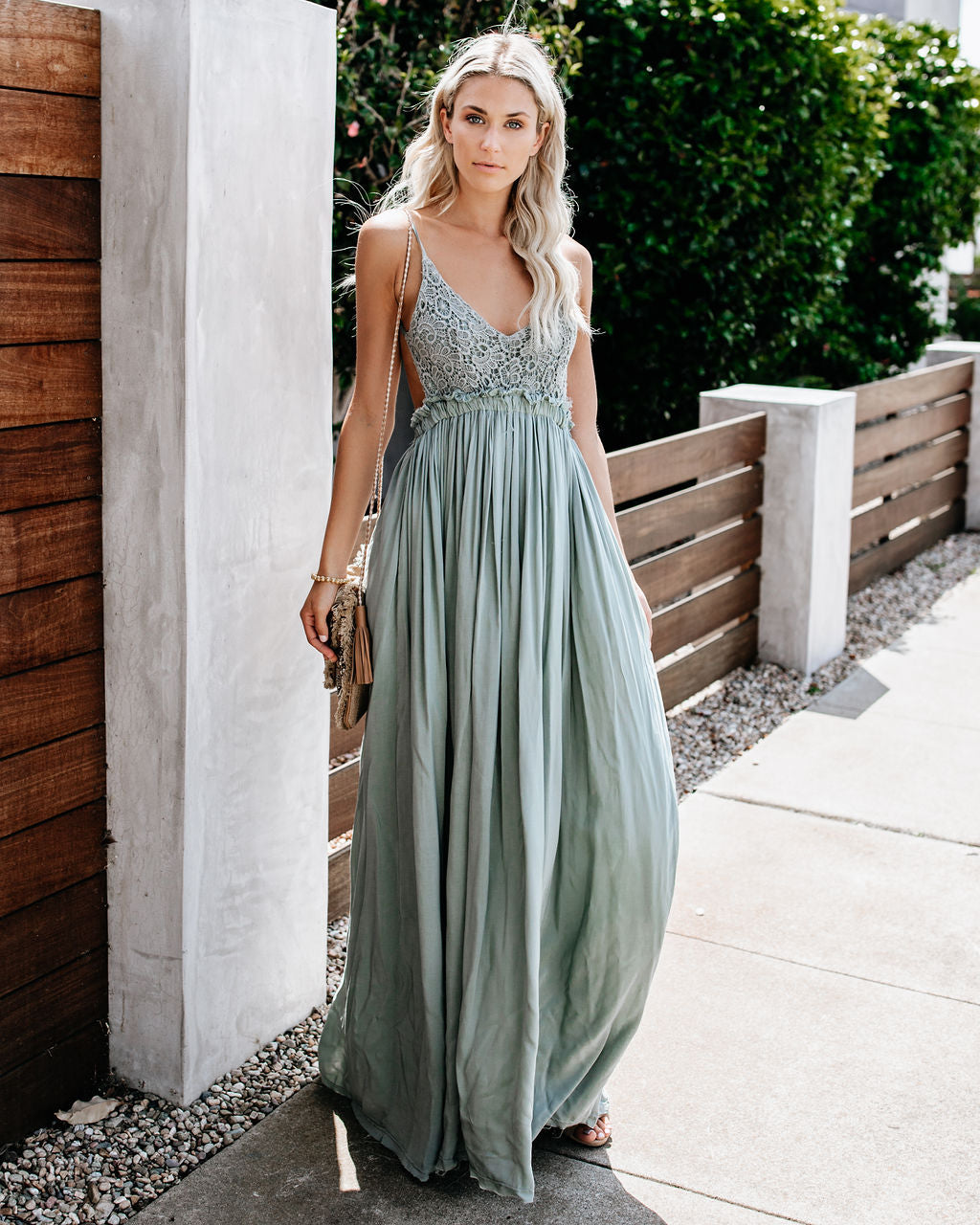 57b031e500c3 Detail Product. FILTER ← Home - BOHO - Milana Boho Maxi Dress - Dark Sage